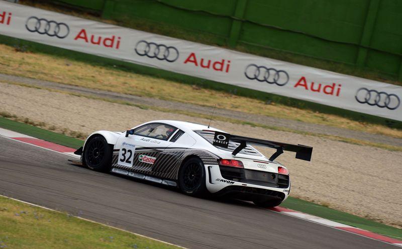 Di Benedetto-Frassineti, (Audi Sport Italia, Audi R8 LMS-GT3 #32)