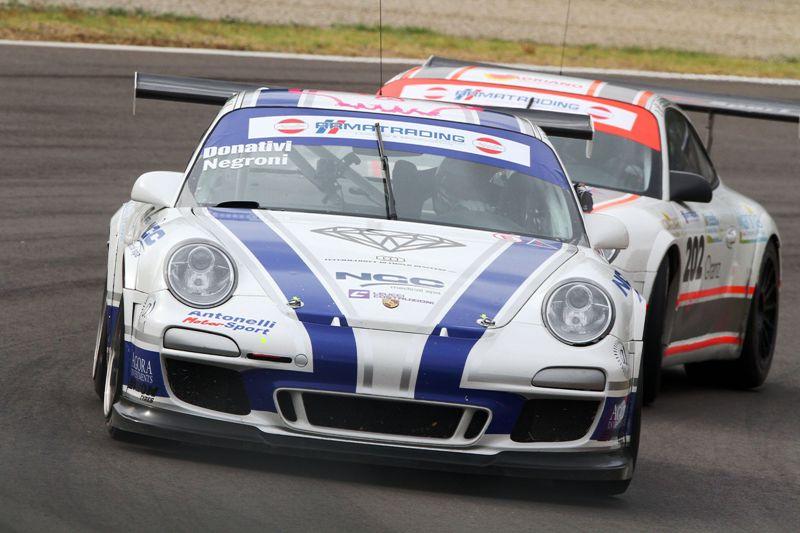 Donativi-Negroni (Antonelli Motorsport, Porsche 997-GTCup #204)