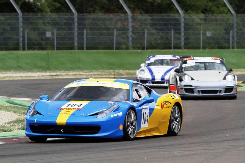 Kruglik-Tsyplakov (MU Motorsport, Ferrari 458 Challenge-GTCup #104)