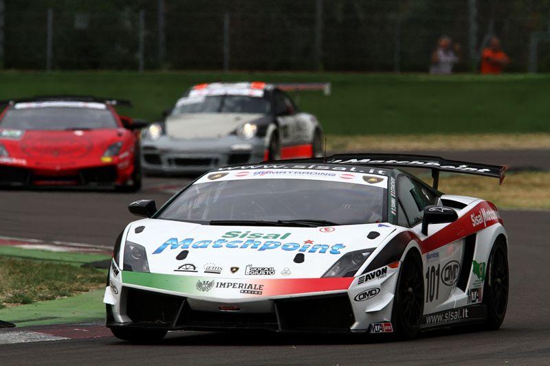 Sanna-Stancheris (Team Imperiale, Lamborghini Gallardo-Cup #101)