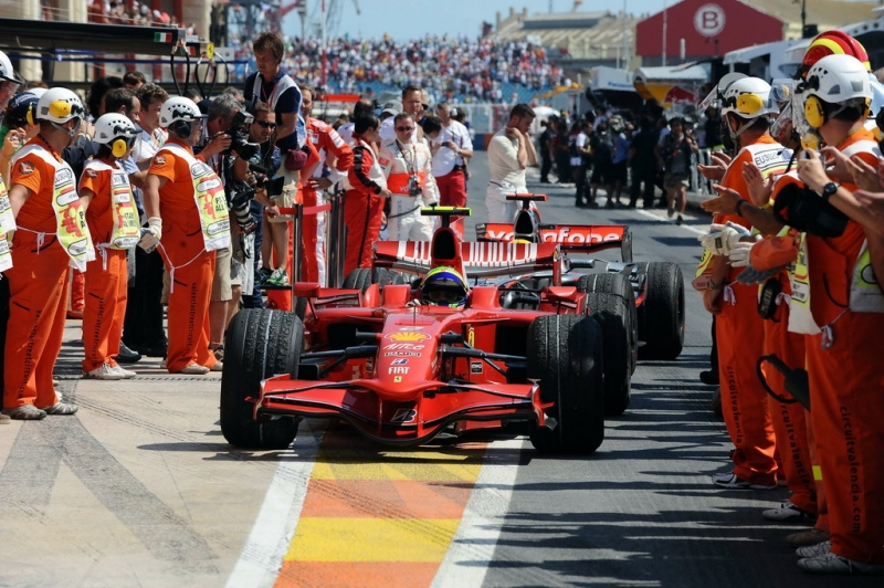 EUROPEAN GRAND PRIX F1/2008 -  VALENCIA 24/08/2008 -