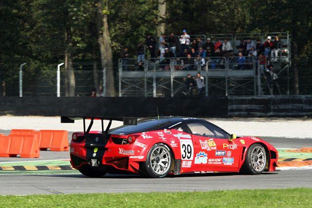 Comandini-Lancieri (Vita4One Team Italy, Ferrari 458 Italia #39)