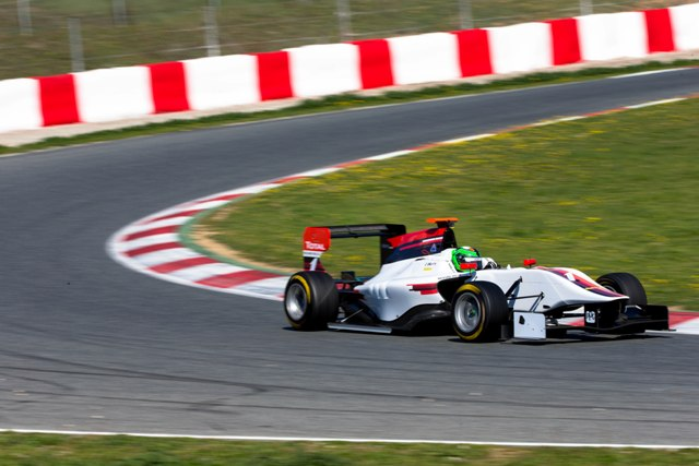 Circuit de Catalunya, Barcelona, SpainTuesday 12th March 2013Day 1Conor Daly (USA) ART Grand Prix Photo: Malcolm Griffiths/GP3 Series Media Serviceref: Digital Image F80P0587