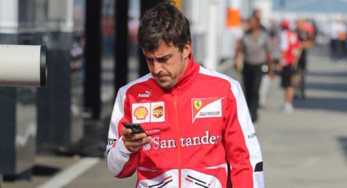 26.07.2013- Fernando Alonso (ESP) Scuderia Ferrari F138