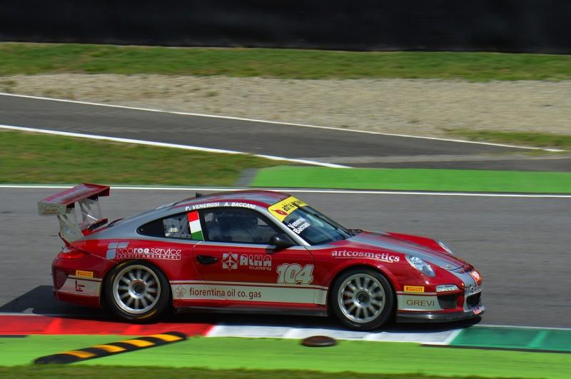 Baccani-Venerosi (Antonelli Motorsport,Porsche 997 Cup #104)