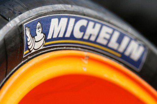 Michelin Tyre logo, British MotoGP 2007